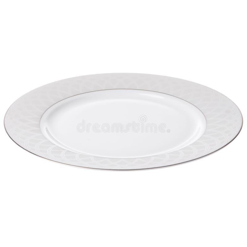 Placa de cena aislada imagenes de archivo
