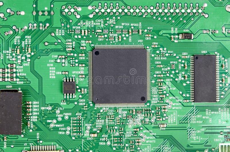 Placa de circuito imagenes de archivo