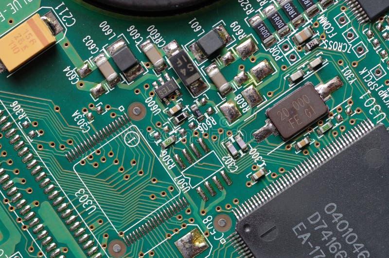 Placa de circuito imagem de stock royalty free