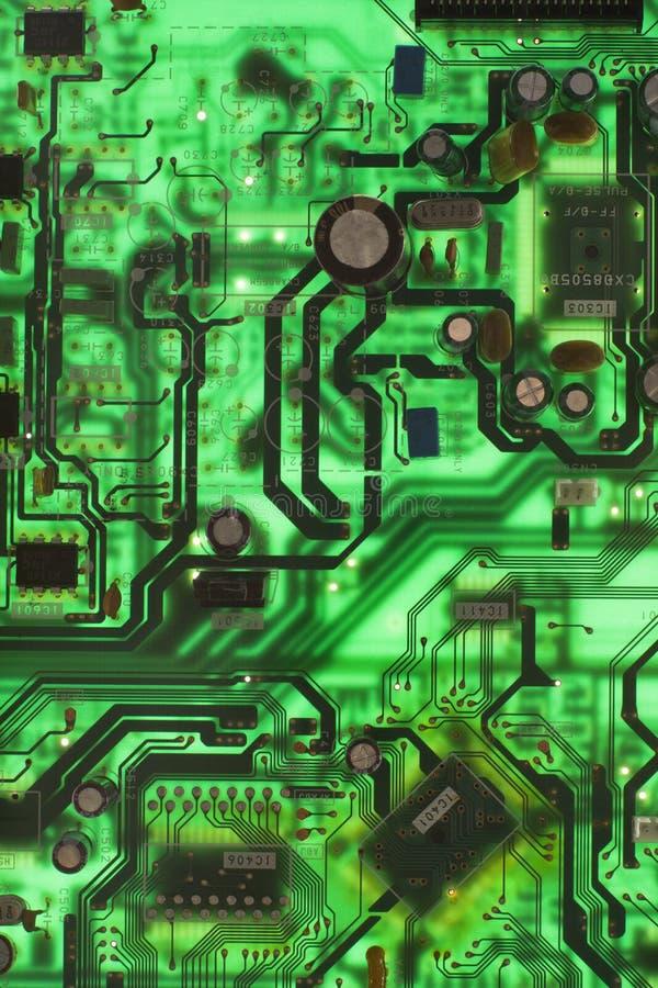 Placa de circuito. fotografia de stock