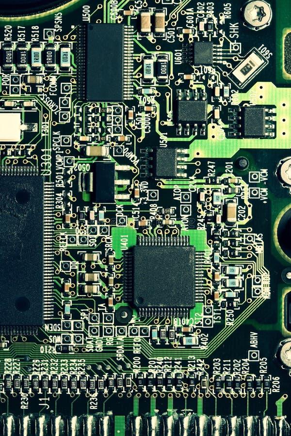 Placa de circuito imagens de stock royalty free