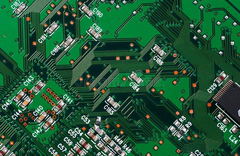 Placa de circuito imagens de stock