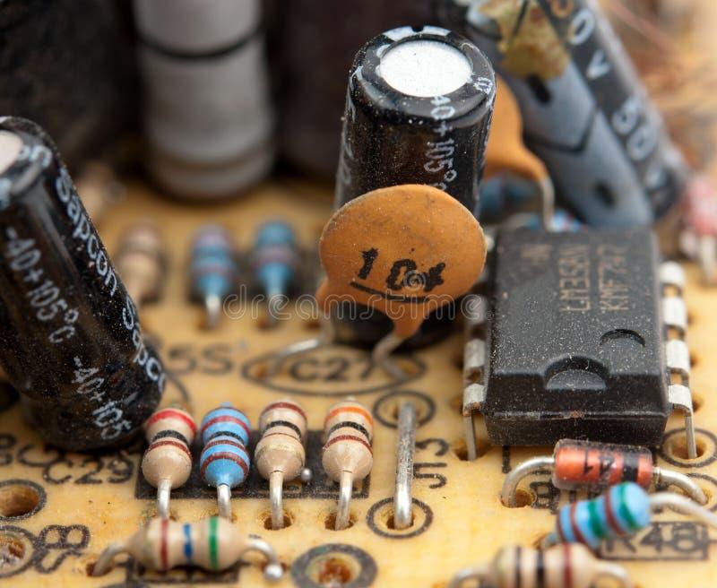 Placa de circuito elétrico imagem de stock