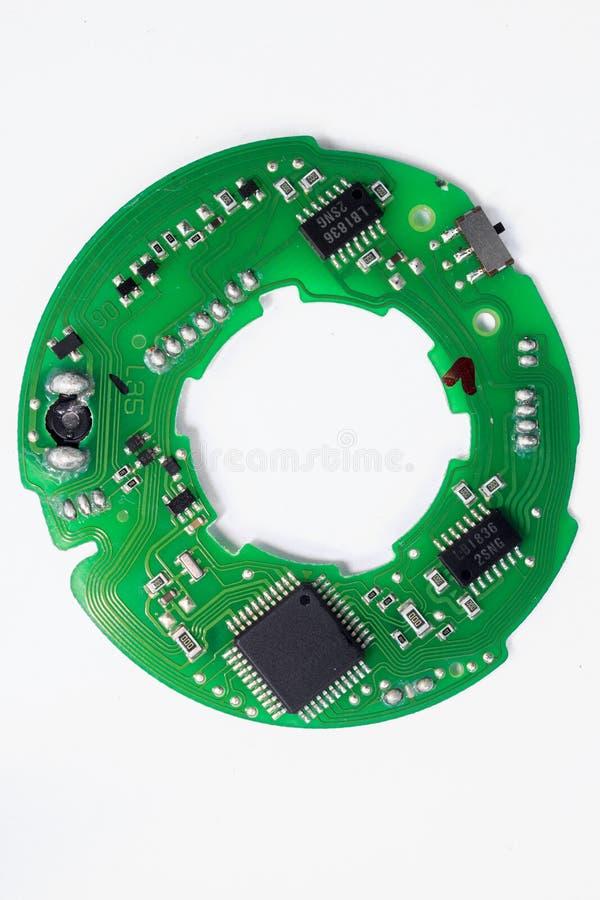 placa de circuito eletrônico imagens de stock