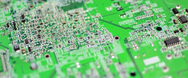 Placa de circuito eletrônico industrial da tecnologia fotos de stock royalty free
