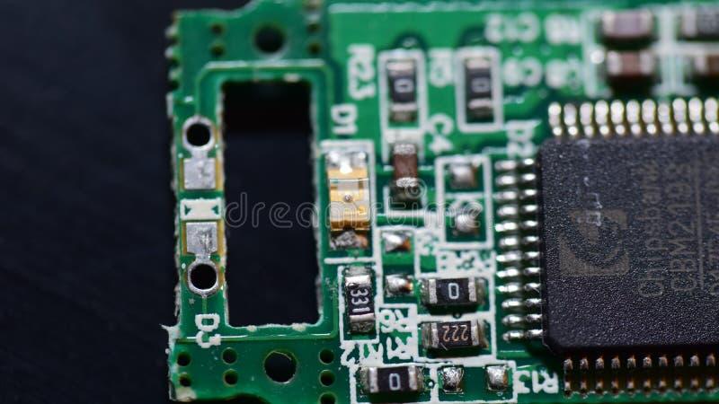 Placa de circuito genérica foto de stock
