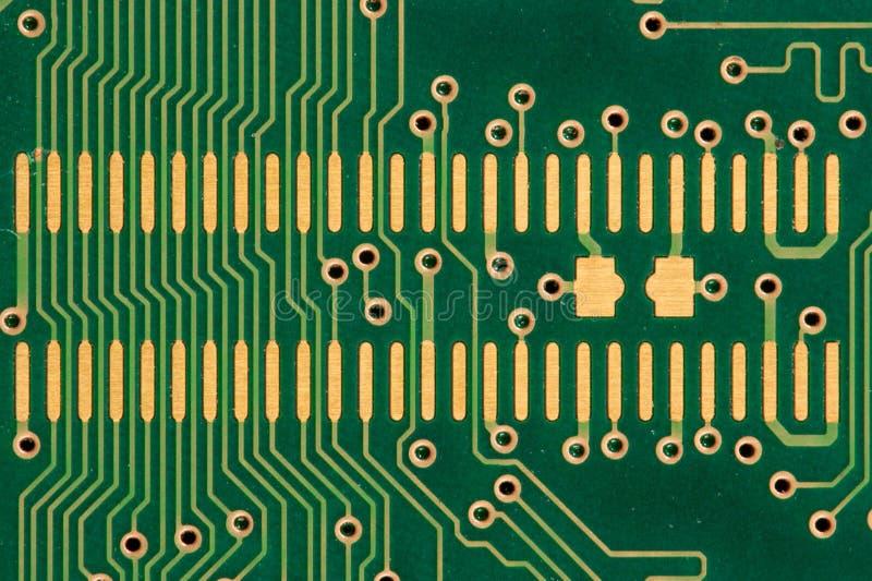 Placa de circuito genérica imagens de stock