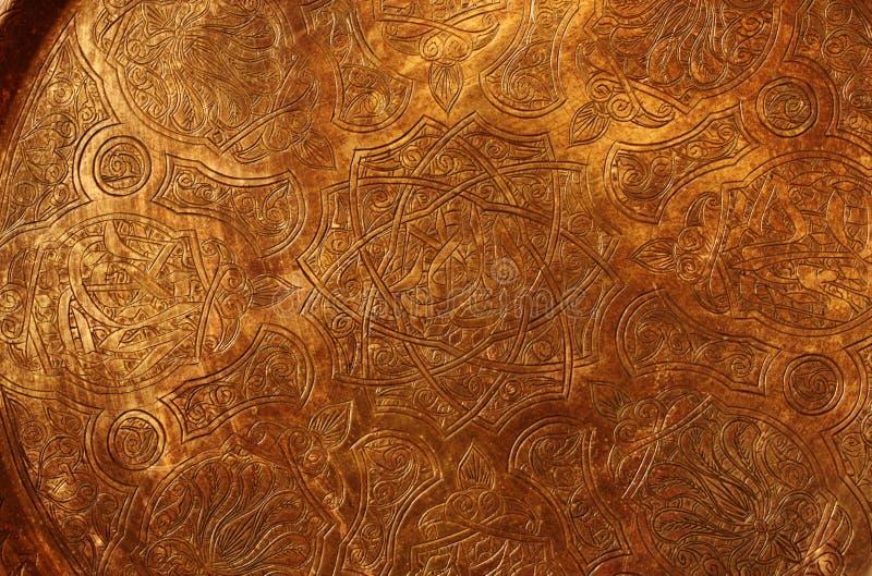 Placa de cobre ilustración del vector