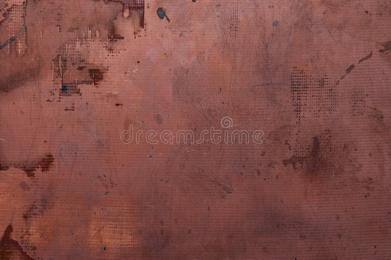 Placa de cobre imagens de stock royalty free