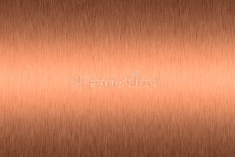 Placa de cobre escovada fotos de stock royalty free