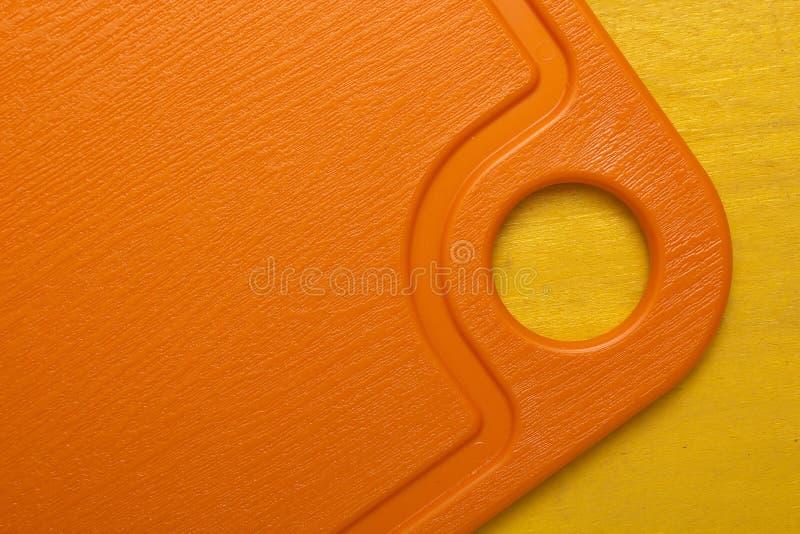 Placa de corte moderna plástica imagens de stock