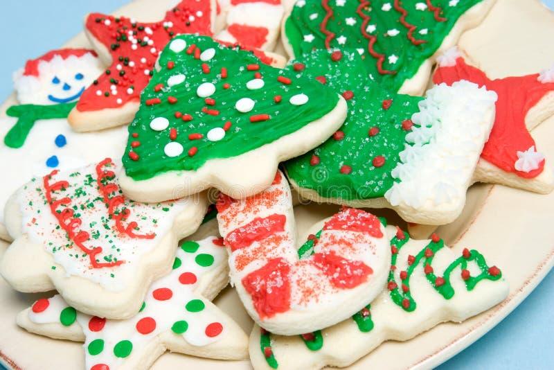 Placa de galletas imagenes de archivo