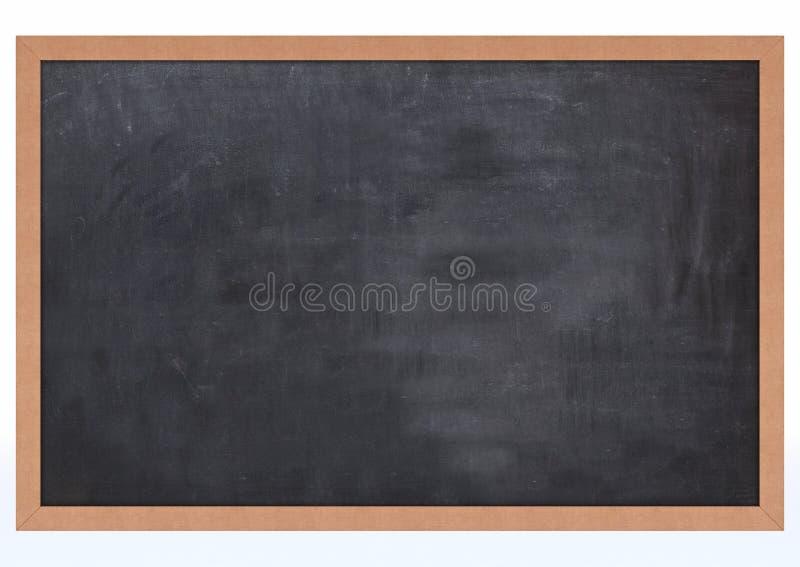 Placa de giz em branco ilustração royalty free