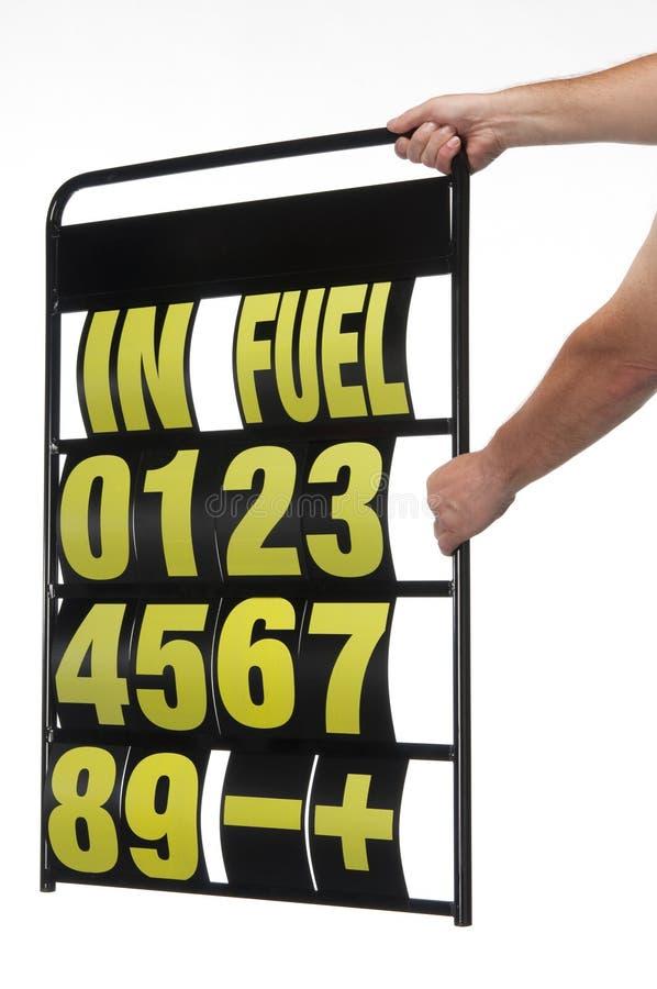 Placa de indicador do poço imagem de stock