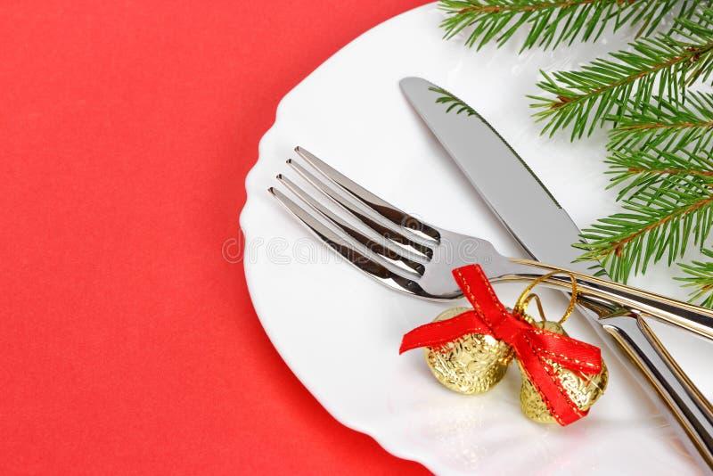 Placa de la Navidad fotografía de archivo libre de regalías