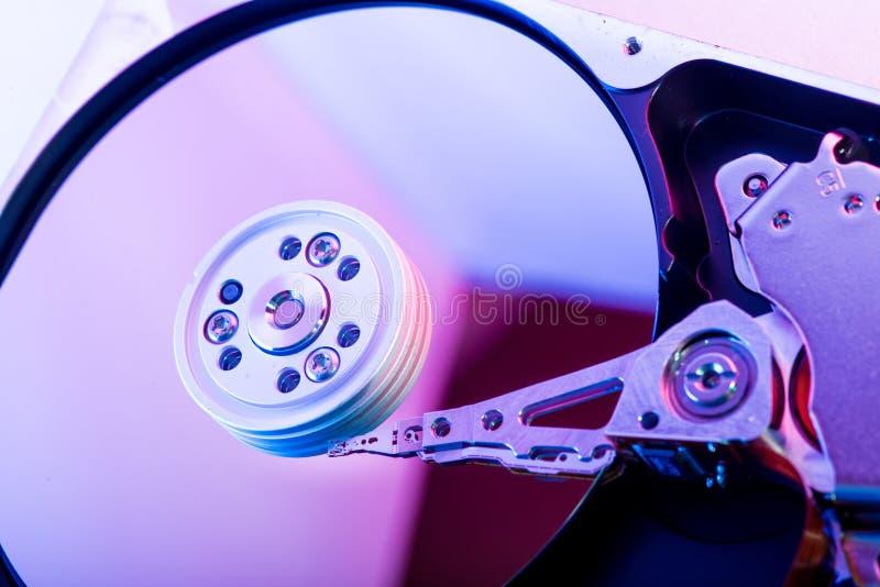 Placa de la unidad de disco duro foto de archivo libre de regalías