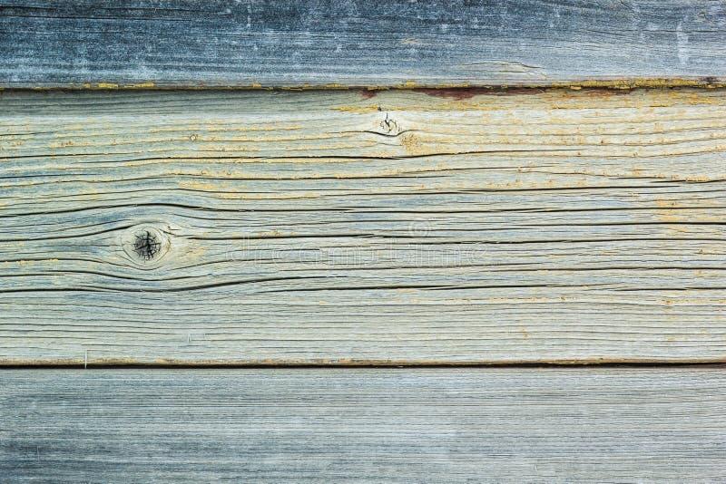 Placa de madeira da parede do vintage rústico com pintura desvanecida imagem de stock