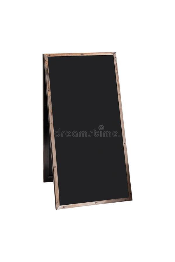 Placa de madeira vazia do menu fotos de stock royalty free