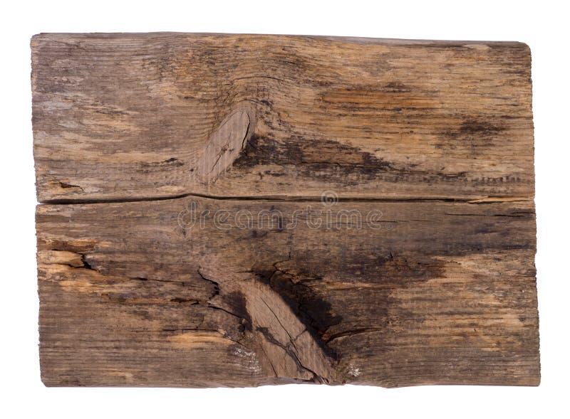 Placa de madeira velha fotos de stock royalty free