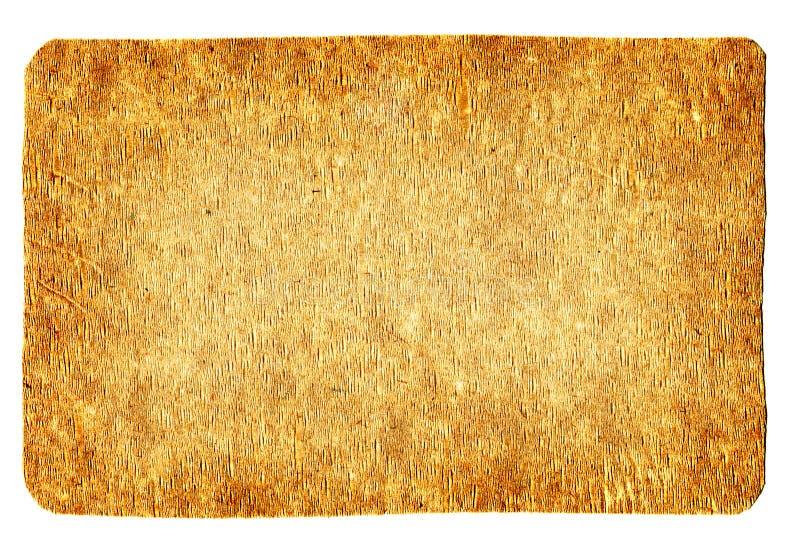 Placa de madera del índice fotos de archivo libres de regalías