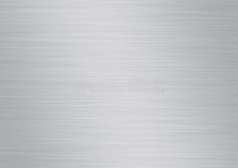 Placa de metal ilustração royalty free