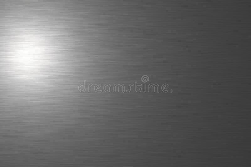 Placa de metal aplicada con brocha stock de ilustración