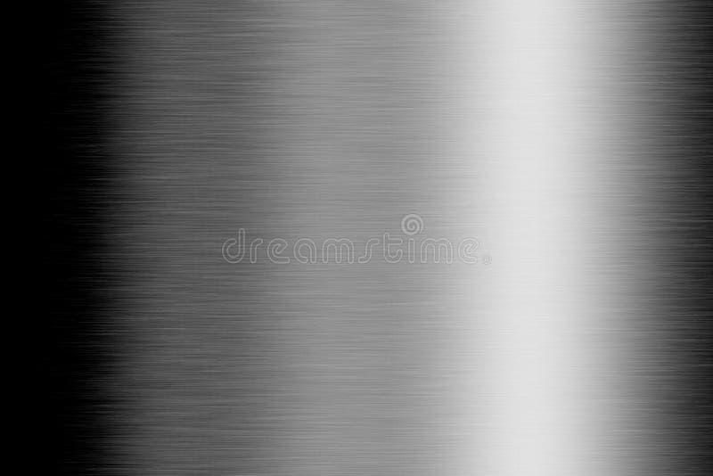 Placa de metal aplicada con brocha ilustración del vector