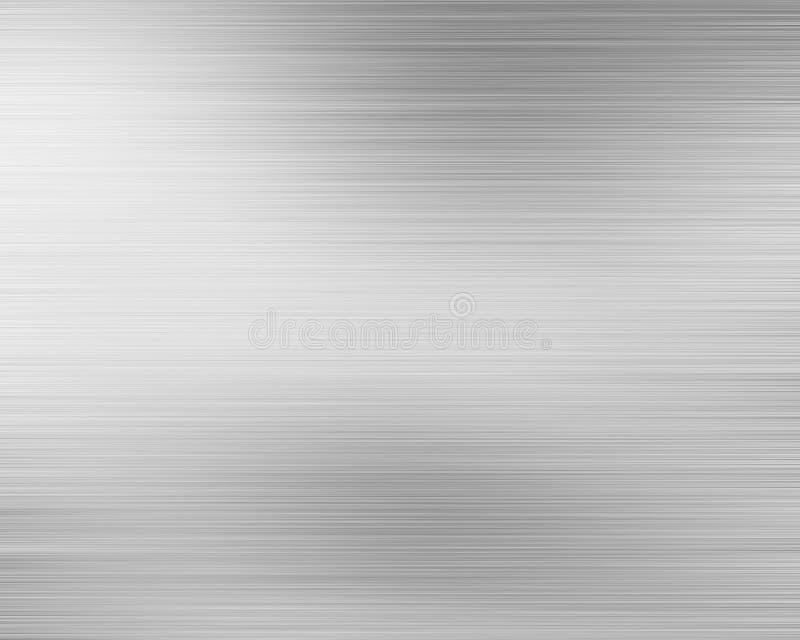 Placa de metal de alumínio escovada ilustração royalty free