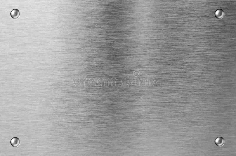 Placa de metal del acero inoxidable con los remaches - Remaches acero inoxidable ...
