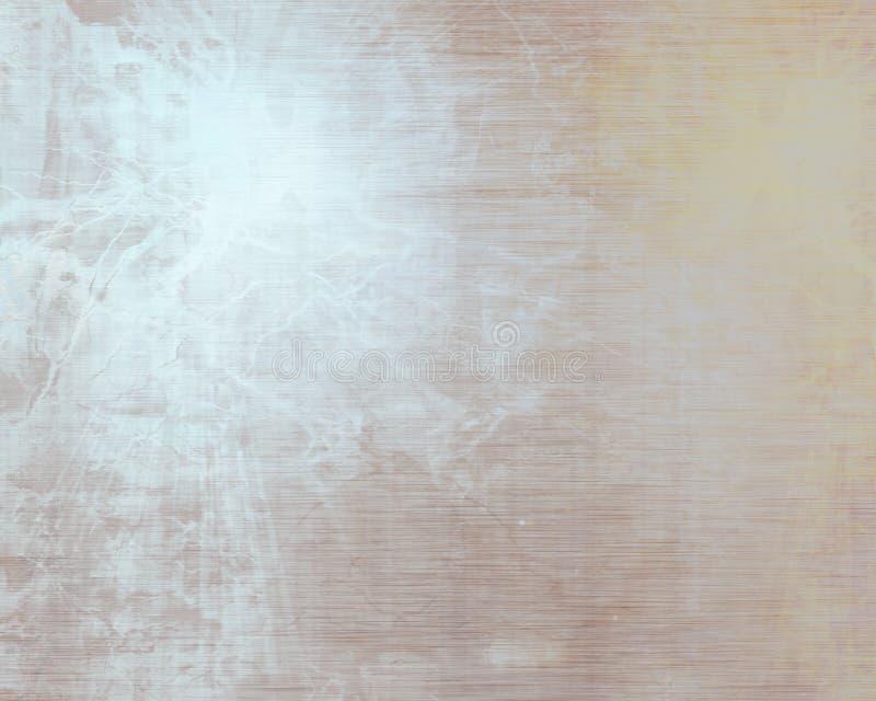 Placa de metal escovada do alluminium ilustração royalty free