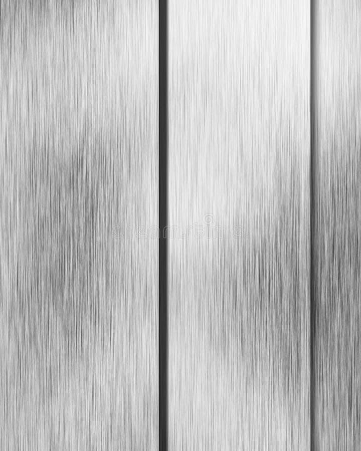 Placa de metal escovada do alluminium ilustração stock