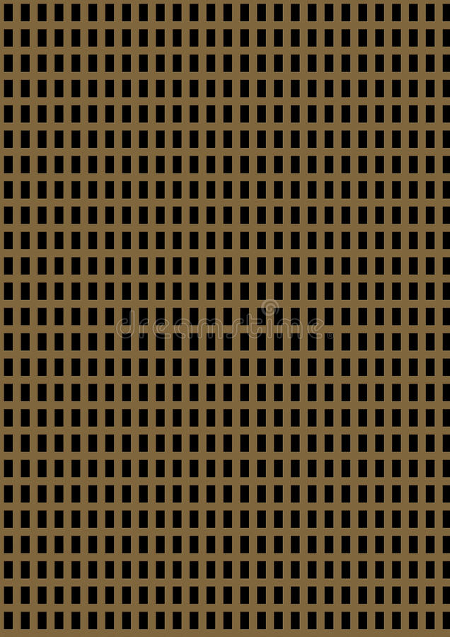 Placa de metal perforada artificial imágenes de archivo libres de regalías