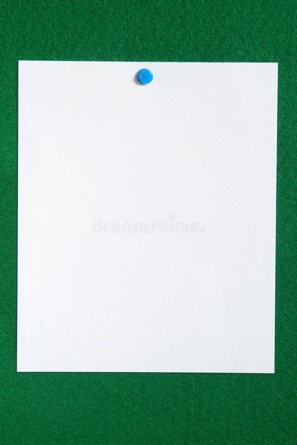 Placa de observação do Livro Branco. fotografia de stock