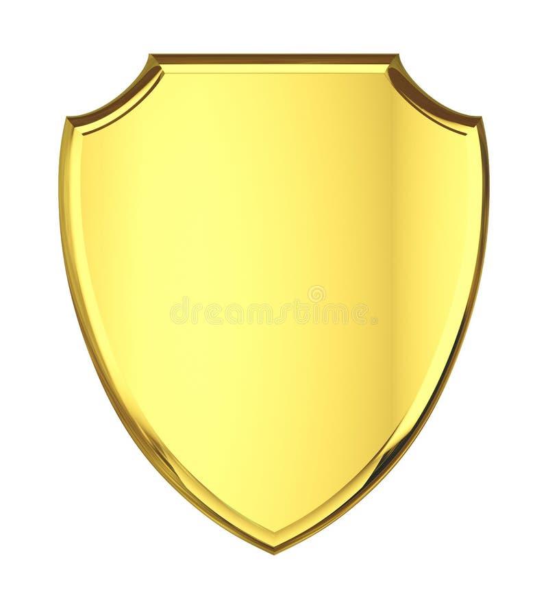 Placa de oro. imágenes de archivo libres de regalías