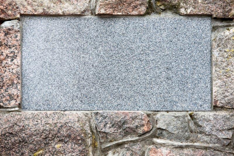Placa de pedra imagens de stock