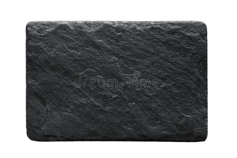 Placa de piedra en blanco fotos de archivo