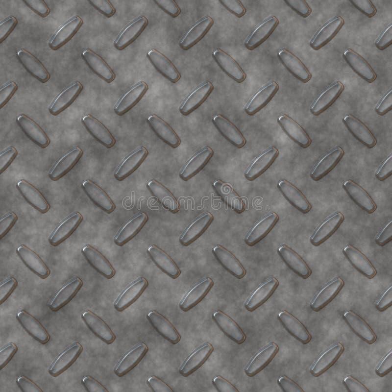 Placa de prata do diamante imagem de stock royalty free