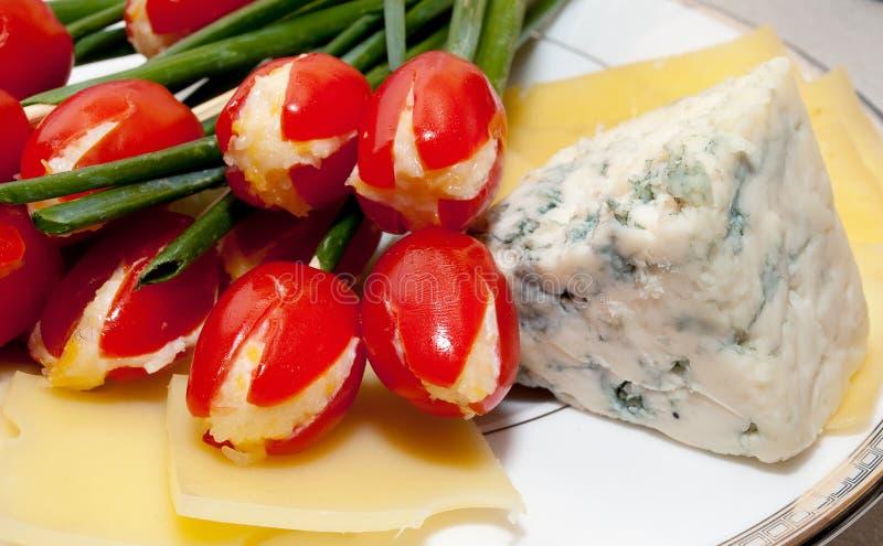 Placa de queijo foto de stock royalty free