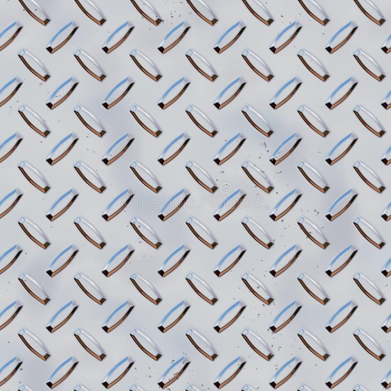 Placa de red del acero inoxidable ilustración del vector