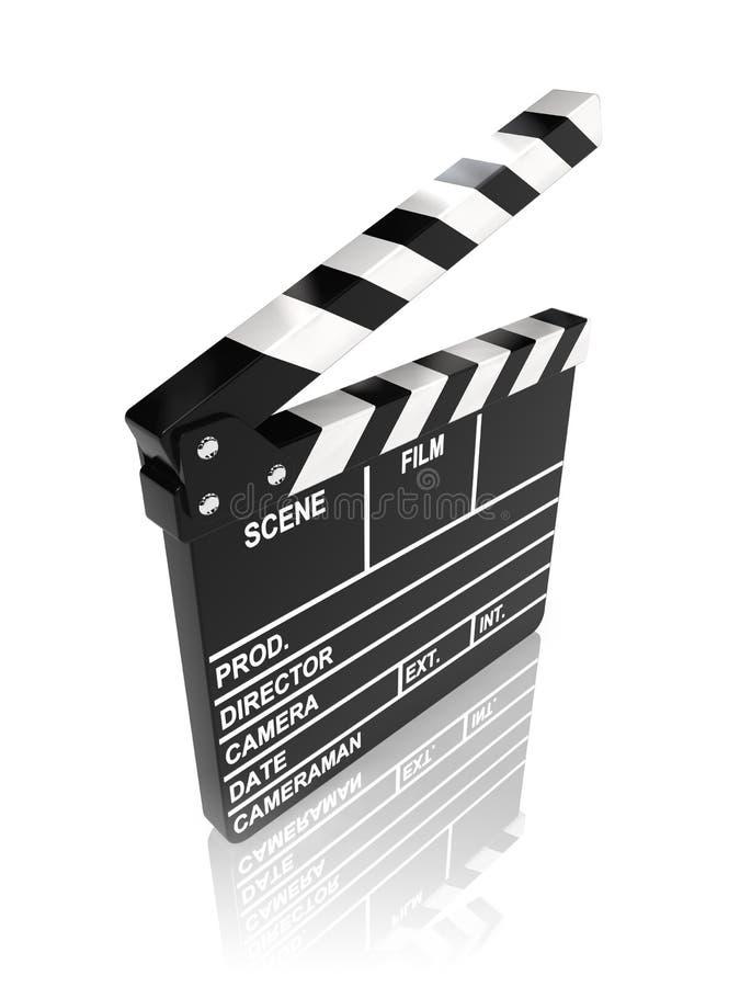 Placa de válvula do filme ilustração do vetor