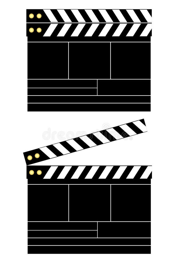 Placa de válvula do filme ilustração stock