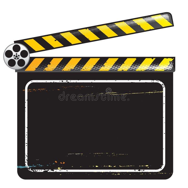 Placa de válvula do filme ilustração royalty free