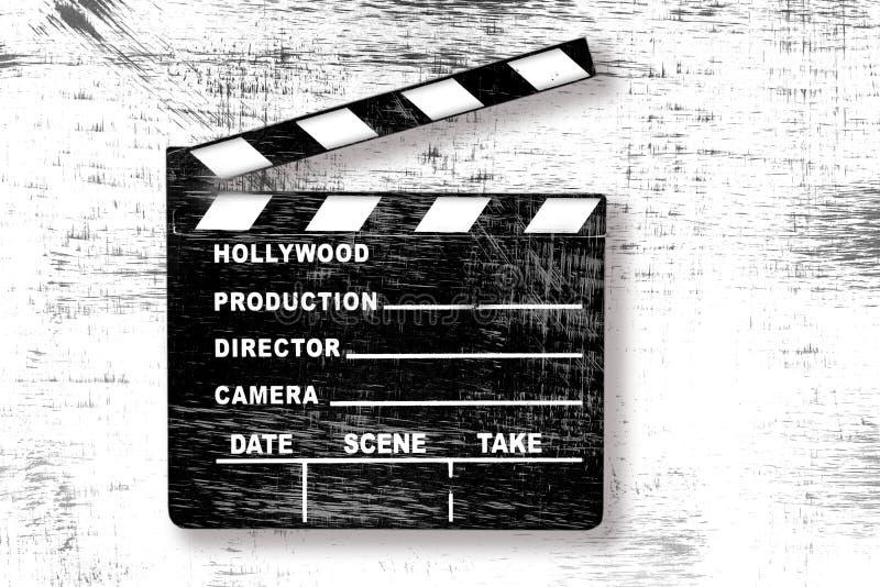 Placa de válvula do filme de Grunge ilustração stock