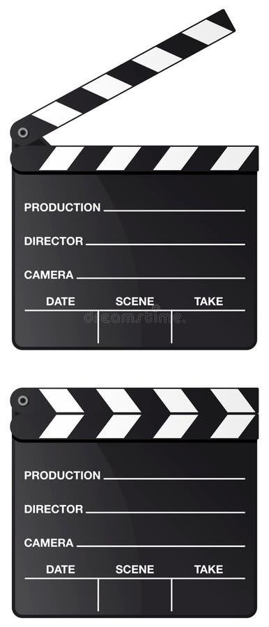 Placa de válvula do filme isolada ilustração stock