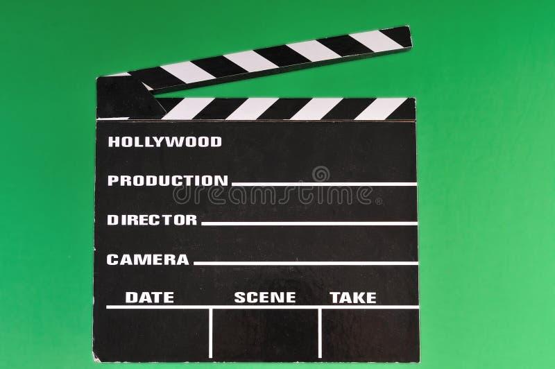 Placa de válvula do marcador do filme foto de stock
