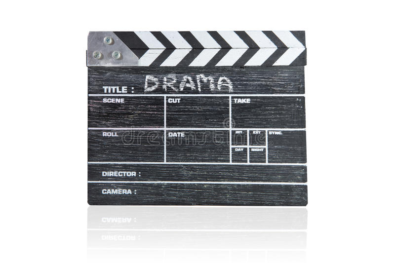 Placa de válvula no drama branco do título do fundo fotos de stock royalty free
