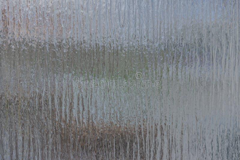 Placa de vidro como uma textura e fundo para compor fotografia de stock royalty free