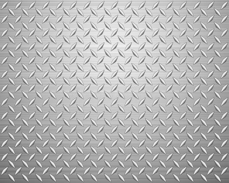 Placa del diamante ilustración del vector