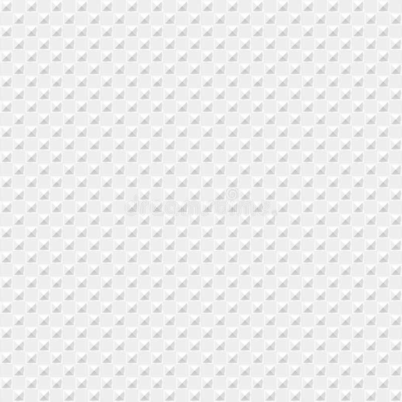 Placa del diamante de la textura inconsútil Metal o material plástico ilustración del vector