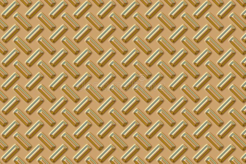 Placa del diamante - oro fotos de archivo libres de regalías